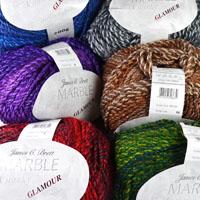 86a559cb1c09 James C Brett JB424 Knitting Pattern Womens Sweater in Marble Chunky ...